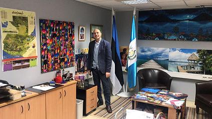 Andrea Bochese, Consulado Honorario de Guatemala en Tallinn, Estonia