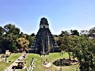 Tikali  linn Guatemala