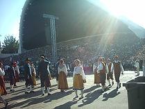 canto y música estonia