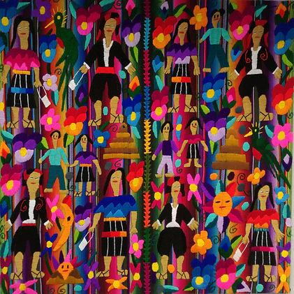 Artesanía Maya 2 Chichicastenango