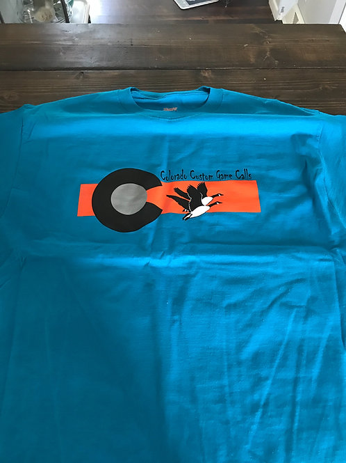 CCGC Teal Short Sleeve Shirt