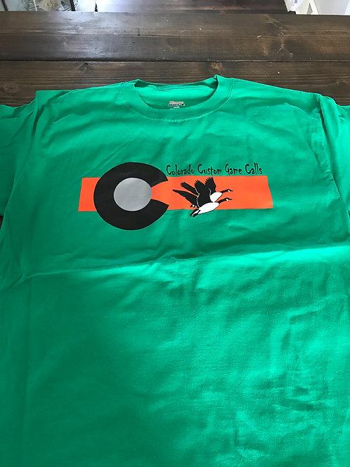 CCGC Green Short Sleeve Shirt