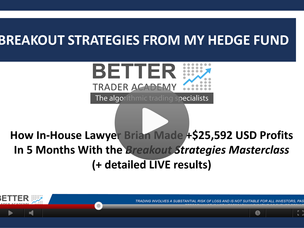#153: [VIDEO] HOW LAWYER BRIAN MADE +25,592 USD IN LIVE TRADING IN THE FIRST 5 MONTHS