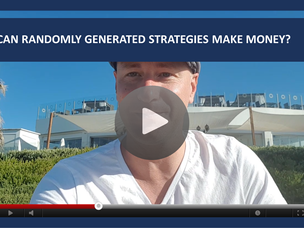 #106: [VIDEO] CAN RANDOMLY GENERATED STRATEGIES WORK AND MAKE MONEY?