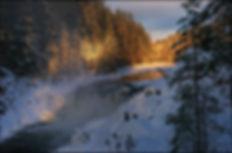 Rivière et cascade de Kivatch - Carélie