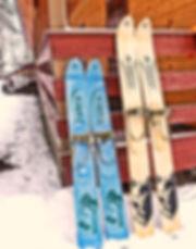 Ski traditionnes adaptés aux lacs