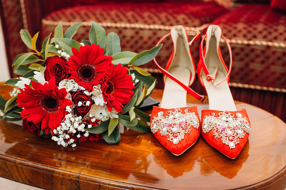 Shoes & Bouquet..jpg