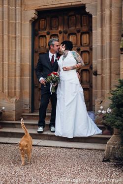 Bazil attending an elopement