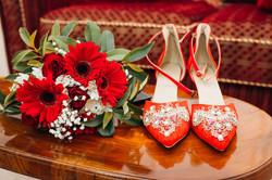 Shoes & Bouquet.