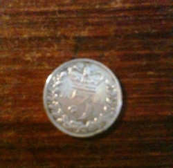 Coin found behind skirting room 1 24.1