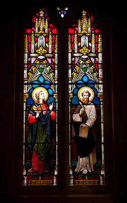 Stain glass in Chapel