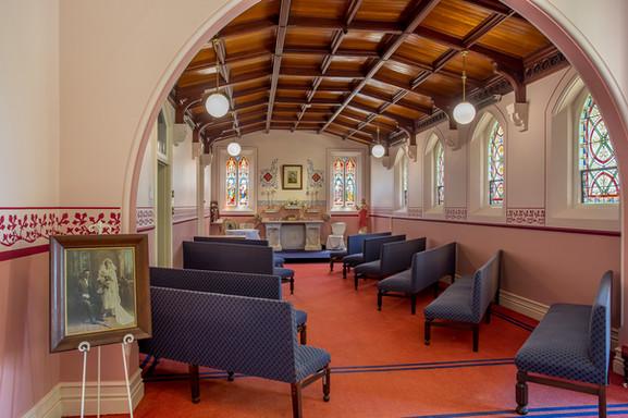 Chapel for wedding ceremony