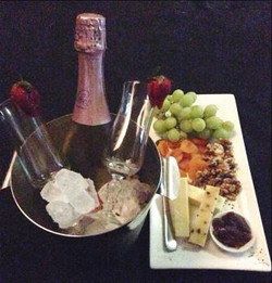 Cheese & Wine plate