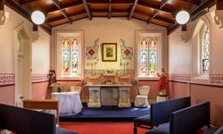 Original stain glass windows - Abbey of