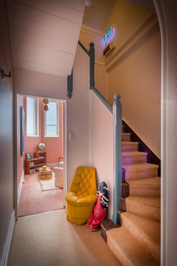 One of 5 staircases Accommodation Warwick