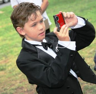 Photographer in the making.