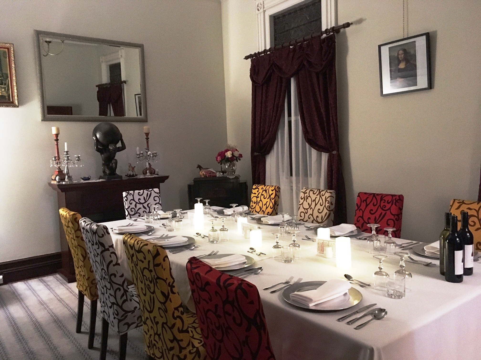 Private Dining 10 people