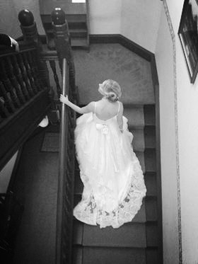 Bride on staircase (Barrett)_edited