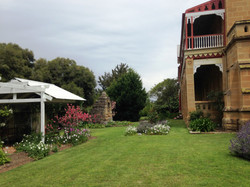 Plenty of garden areas.