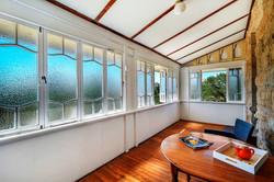 West Wing Suite 6 enclosed veranda