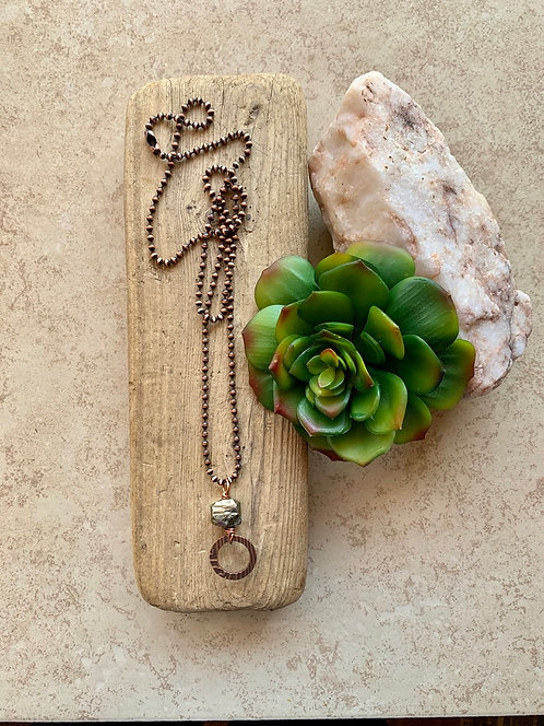 Copper Creations: Pyrite Necklace