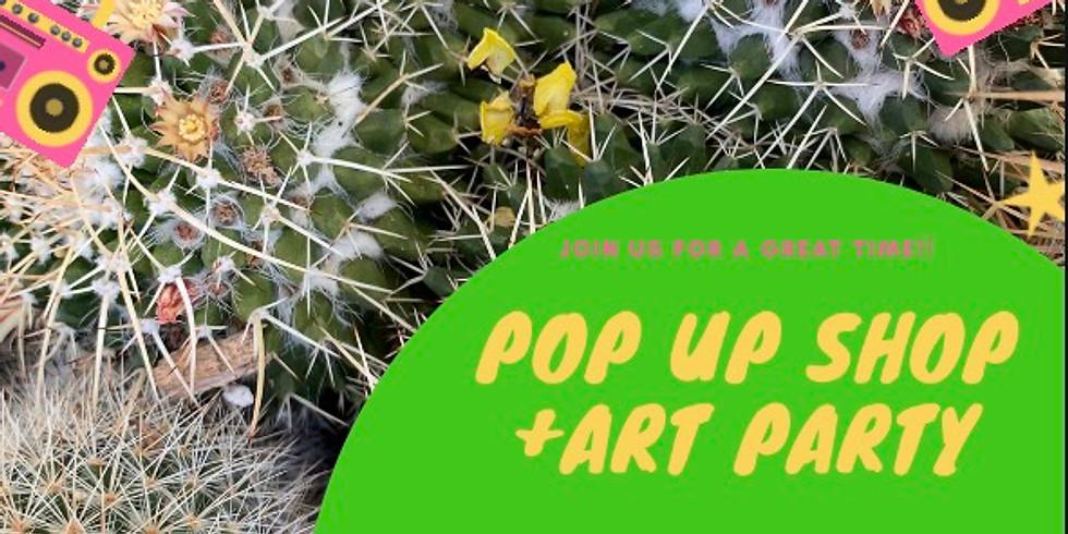 Pop Up Shop & Art Party at BelleStarr Salon (Tucson,AZ)