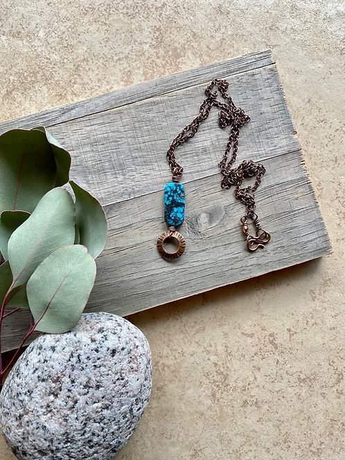 Copper Creations: Turquoise Necklace