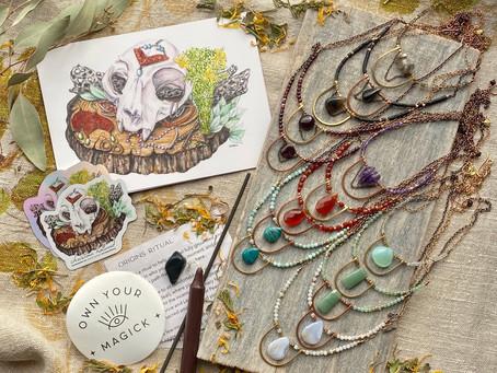 Elemental Essentials October Box: Origins