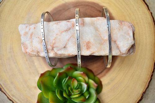 Silver Elements: Cuff Bracelets