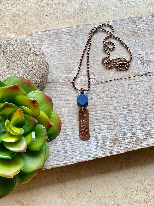 Copper Creations: Lapis Lazuli Necklace