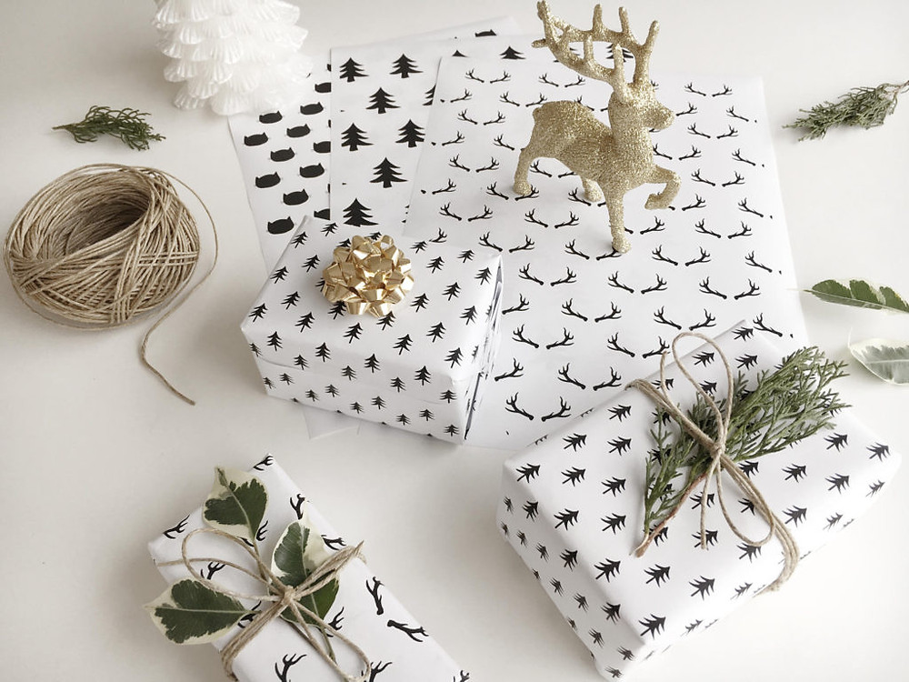 Christmas Gifts Wrapping Paper