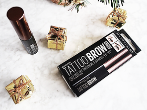 I Tried it for you: Maybelline Tattoo Brow Gel Tint