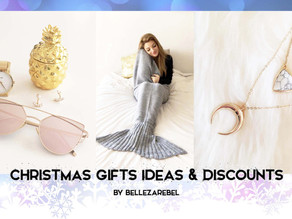 Discounts & Christmas Gifts Ideas!