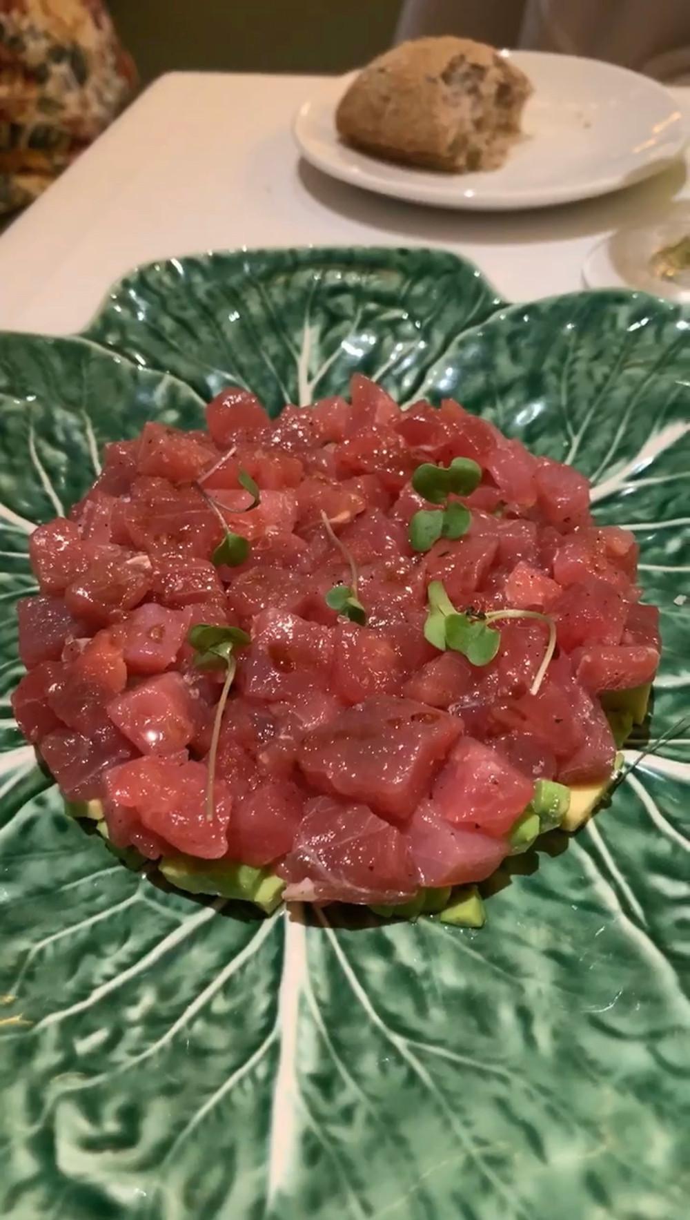 l'olivé barcelona tuna tartar