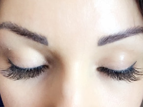 I tried Single Lash Extensions and broke up with my Mascara for goods…