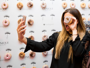 Long Lashes & Donuts at Clinique Event