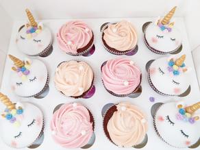Birthday Girl: Unicorn Cupcakes