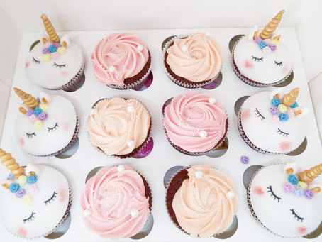 Birthday Girl: Unicorn Cupcakes