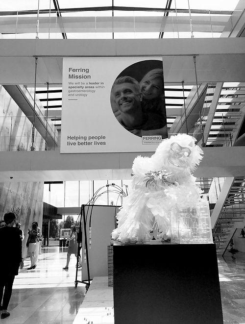 Annick Goeke Swiss artist Ferring Pharmaceuticals Art exhibition