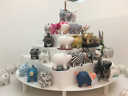 i Gallery Annick Goeke Caviar House Piggy Bank
