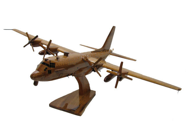 AC-130H Spectre Wooden Model