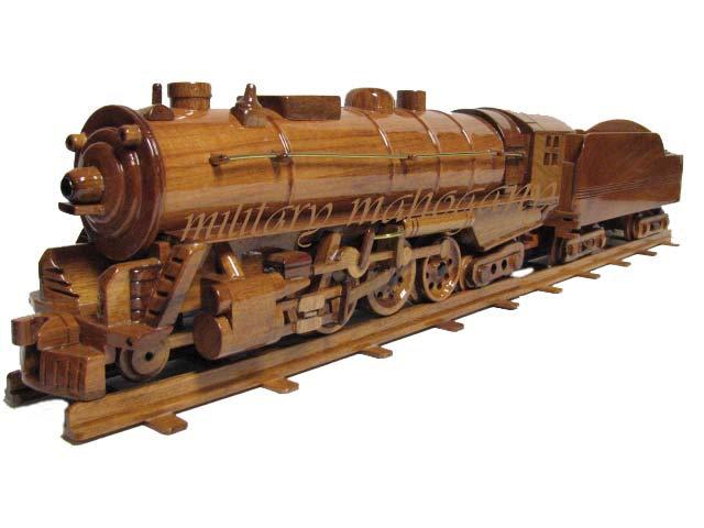 New York Hudson Train Wooden Model Train