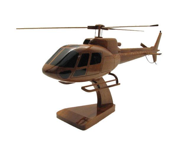 AStar AS350 Wooden Model