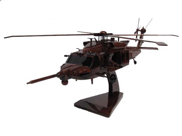 MH-60M Blackhawk UES, Miniguns Wooden Model