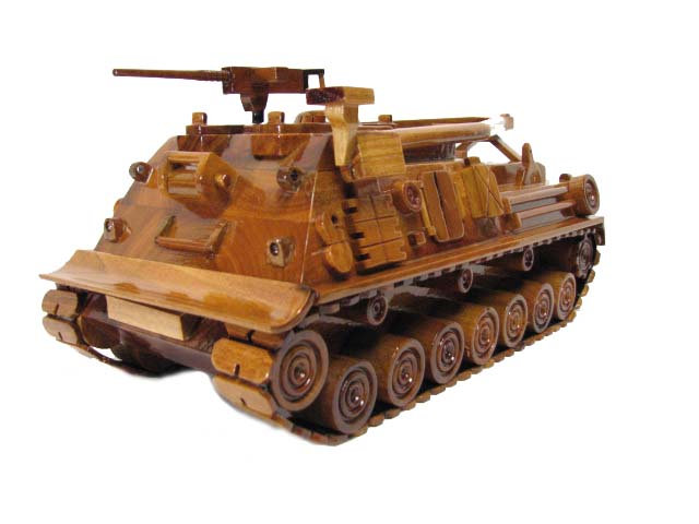 M88A3 Recovery Vehicle Wooden Model