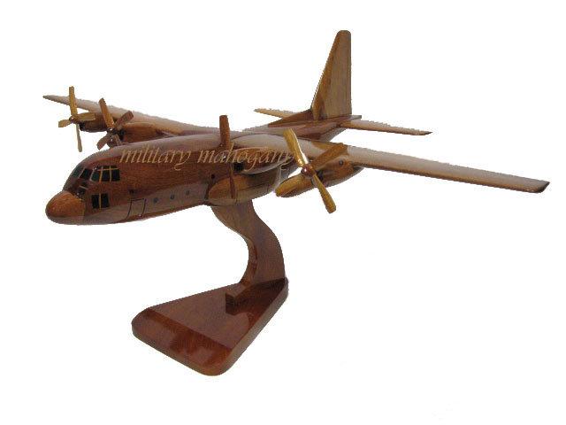 C-130 Hercules Wooden Model