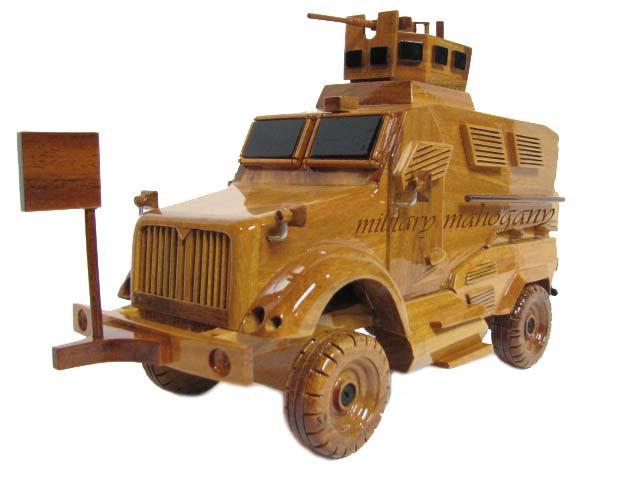 MaxxPro MRAP Wooden Model
