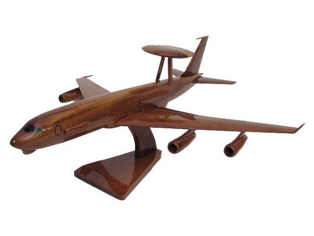 E-3 Awacs Wooden Model