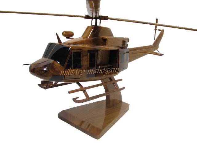 Bell 412 Wooden Model