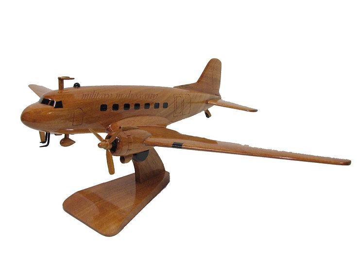 DC-3 Dakota Wooden Model